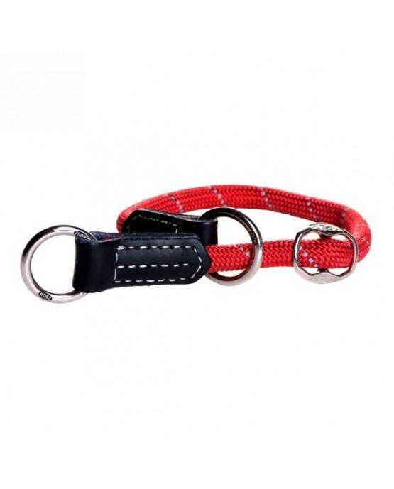 collar nylon redondo rogz perros rojo