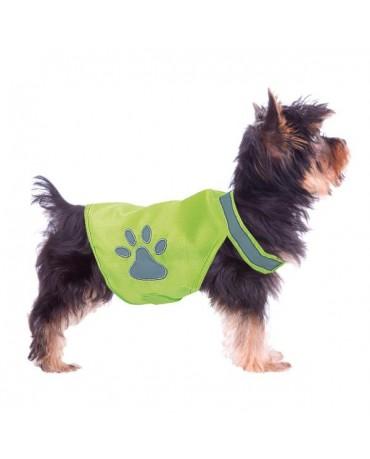 Chaleco reflectante de seguridad para perros