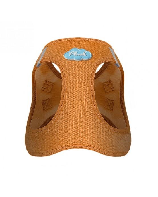 Arnes Curli Air Mess naranja para perros