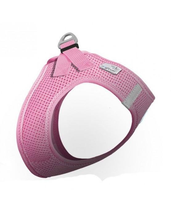Arnes nylon Curli Air Mess rosa para perros