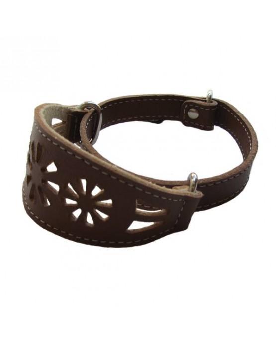collar-galgos-piel-cuero-filigrana-perros-marron-CLP548