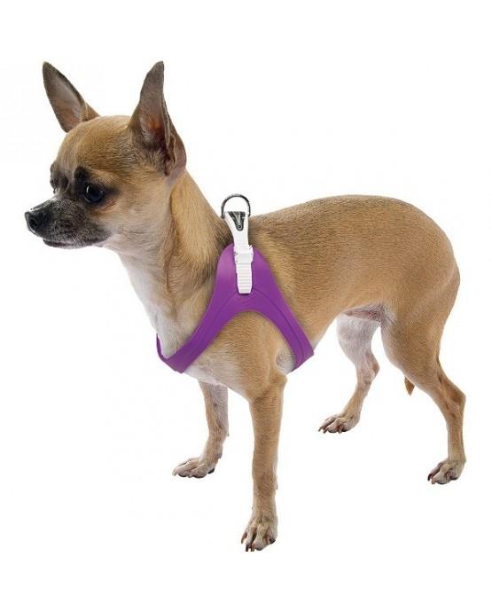 Arnes goma flexible Ergoflex perros cierre facil