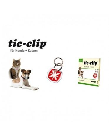 Medalla para perros y gatos Tic Clip de Anibio