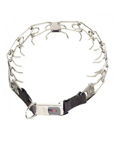 Collar metal Sprenger Ultra Plus Clicklock para perros