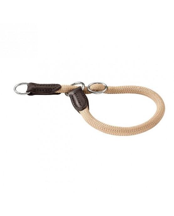 Collar nylon redondo Hunter beige para perros