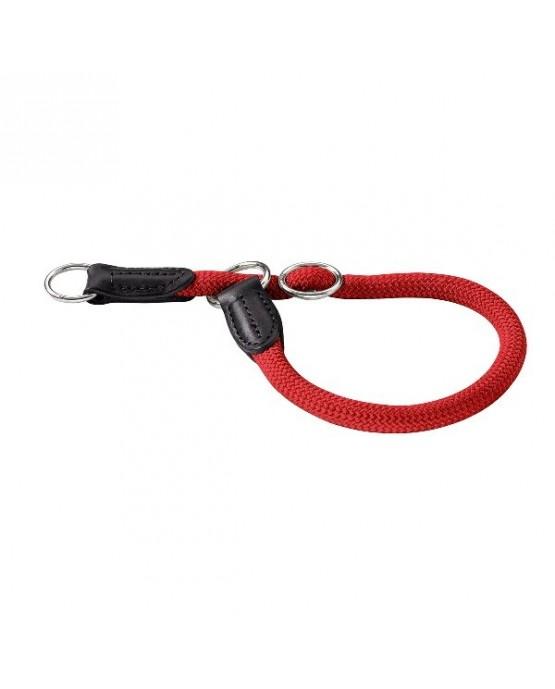 Collar nylon redondo Hunter rojo para perros