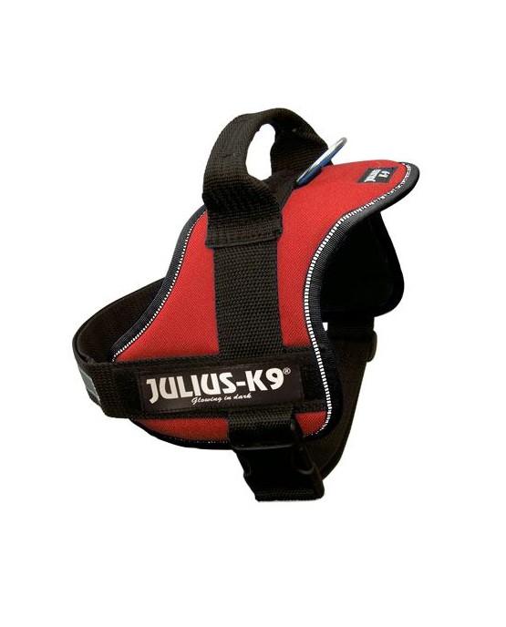 Arnes Julius K9 Power T0 rojo para perros