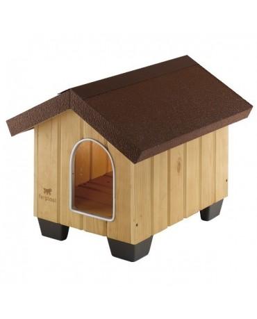 Caseta de madera Domus Ferplast perros y gatos