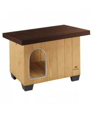 Caseta de madera Baita Ferplast perros y gatos