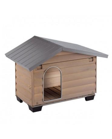 Caseta de madera Canada Ferplast perros y gatos