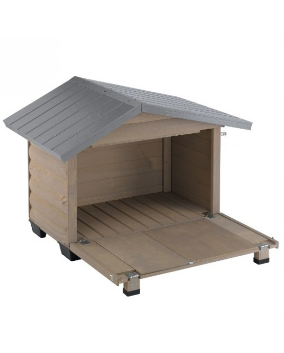 Caseta de madera canada ferplast mascotaland - Caseta perro madera ...