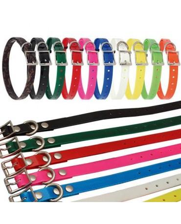 Collar de poliuretano ancho hebilla para perros
