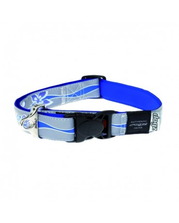 Collar nylon reflectante Rogz Modelo B para perros