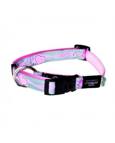Collar nylon reflectante Rogz Modelo K para perros