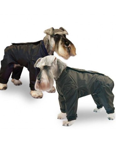 Chubasquero Impermeable cremallera con Patas perros