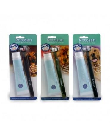 kit cepillo de dientes perros petosan