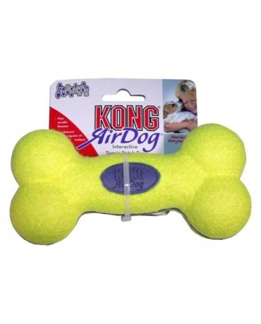Juguete Air Kong Squeaker Bone
