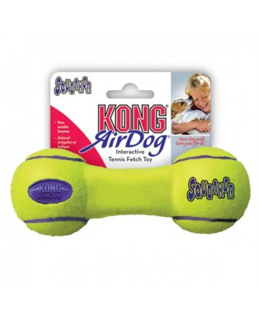 Juguete Air Kong Squeaker Dumbbell