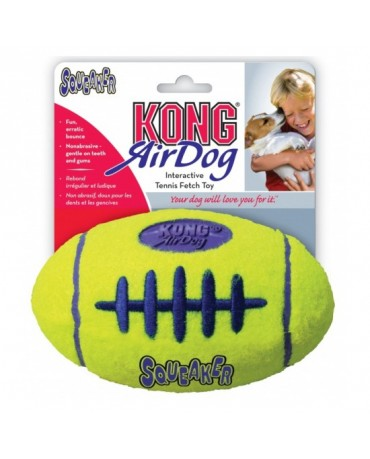 Juguete Air Kong Squeaker Football
