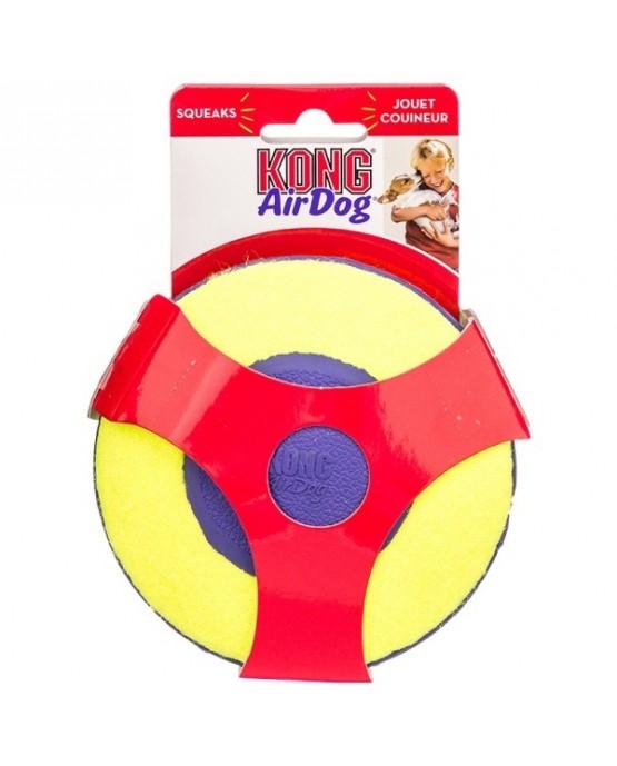 Juguete Air Kong Squeaker Disc para perros
