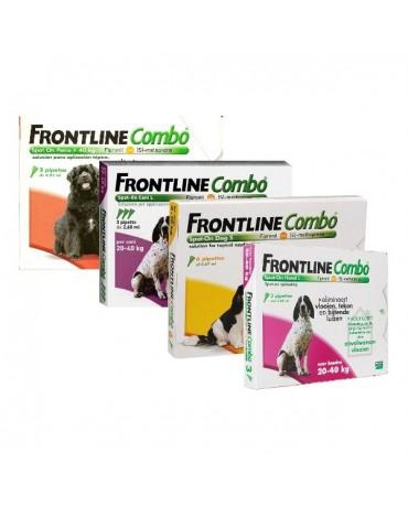 Pipetas para perros Frontline Combo
