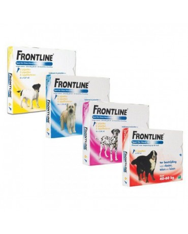 Pipetas para perros Frontline Spot on