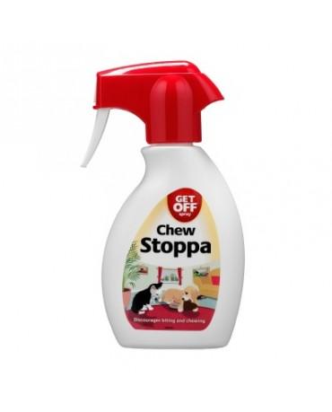 Spray antimordeduras para perros y gatos Chew Stoppa