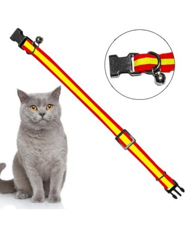 collar-gatos-nylon-elastico-bandera-española-CLNG020