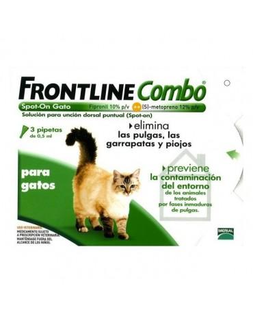 Pipetas para gatos Frontline Combo