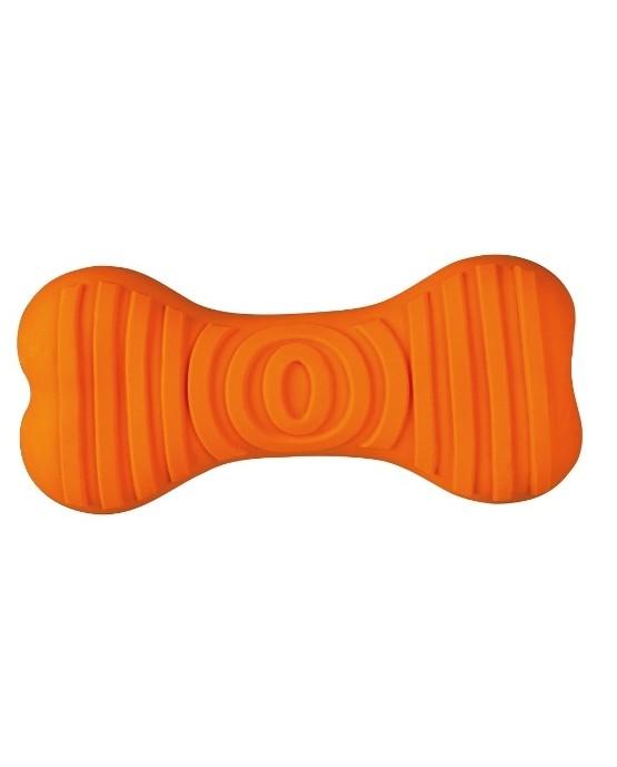 juguete-hueso-latex-perros-naranja-JGT251