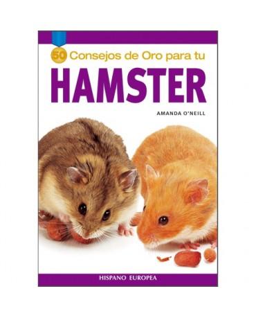 Libro 50 consejos de oro para hamsters