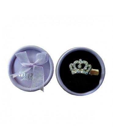 Clip Corona de diamantes para el pelo